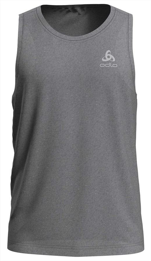 Odlo Millennium Element Singlet Running Tank Vest Top, S Grey Melange