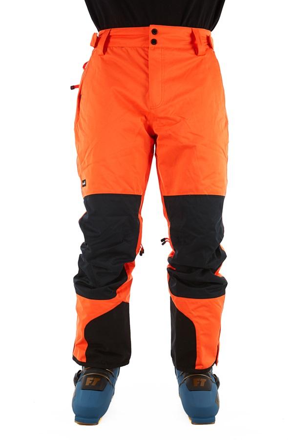 Planks Feel Good Ski/Snowboard Pants, XL Orange