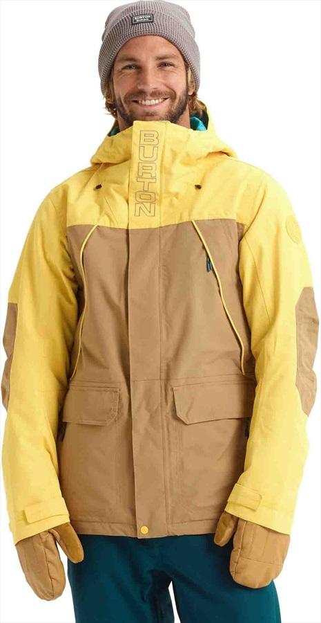 Burton Breach Ski/Snowboard Jacket, XS Kelp/Maize