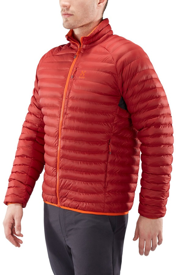 Haglofs Essens Mimic Recycled Insulated Jacket, S Rubin/Cayenne