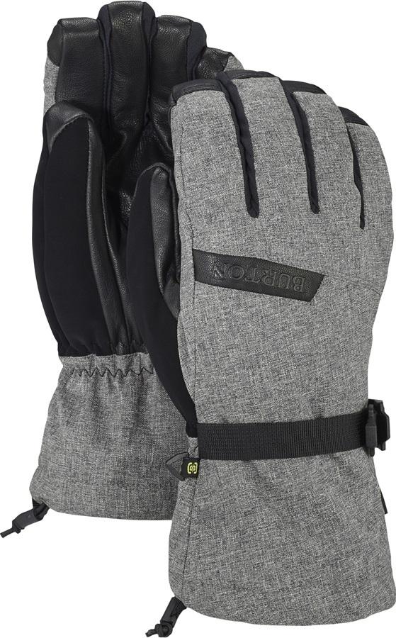 Burton Deluxe Gore-Tex Ski/Snowboard Gloves, S Bog Heather