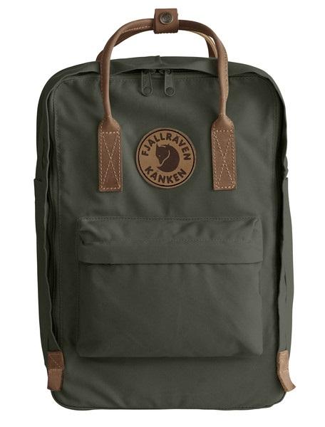 """Fjallraven Kanken No.2 Laptop 15"""" Backpack, 18L Deep Forest"""