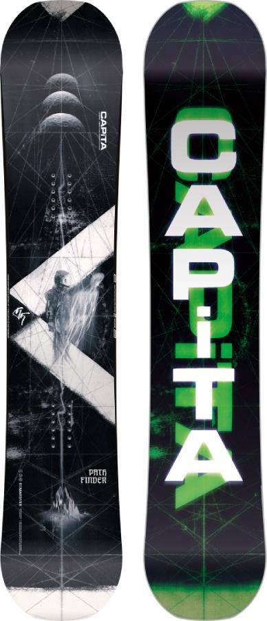 Capita Pathfinder Hybrid Camber Snowboard, 153cm 2022