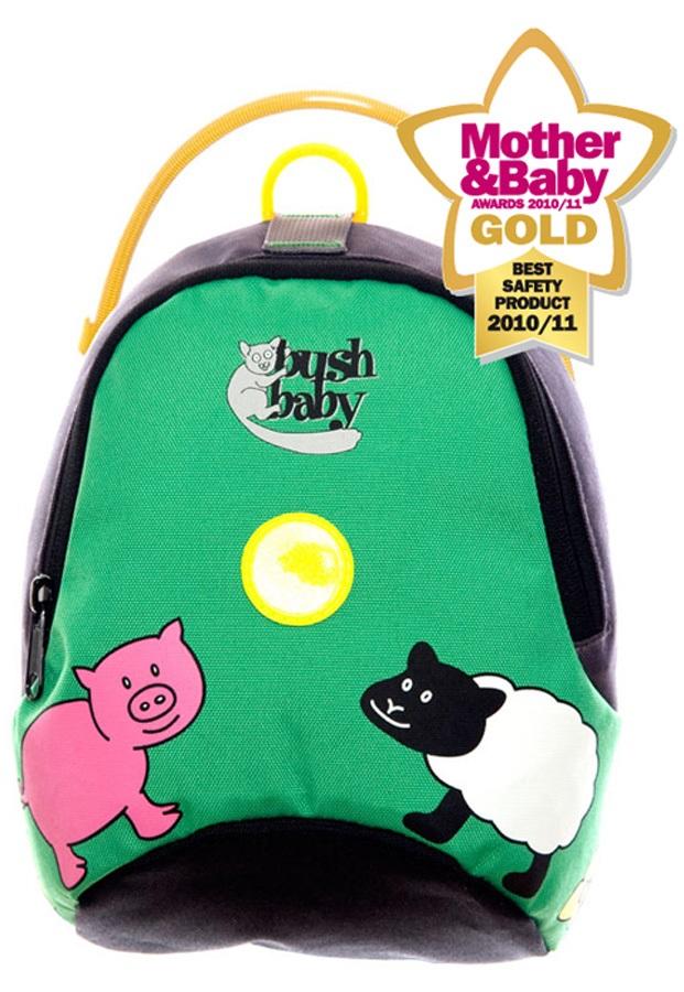 Bushbaby Child Unisex Minipack Kid's Backpack - 2.5L, Green