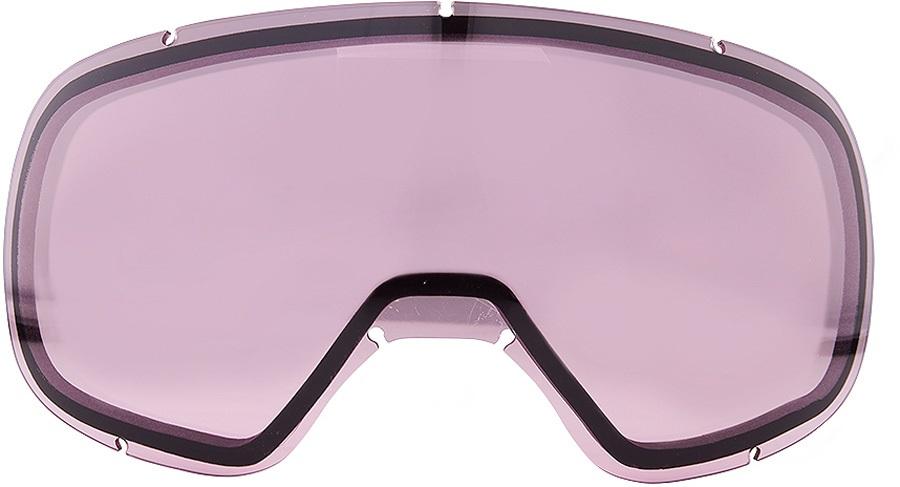 Dragon D3 Snowboard/Ski Goggles Spare Lens Pink Ionized