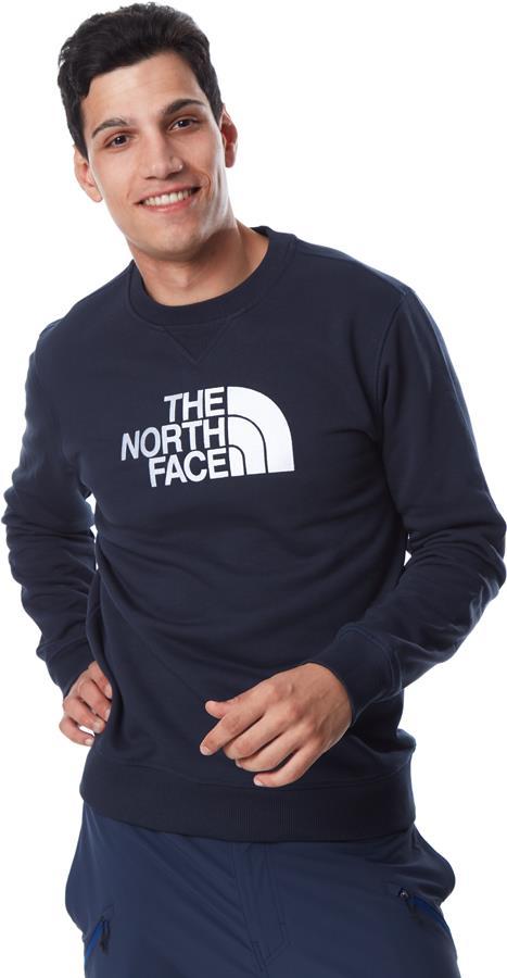 The North Face Drew Peak Crew Neck Pullover Sweater, S Urban Navy