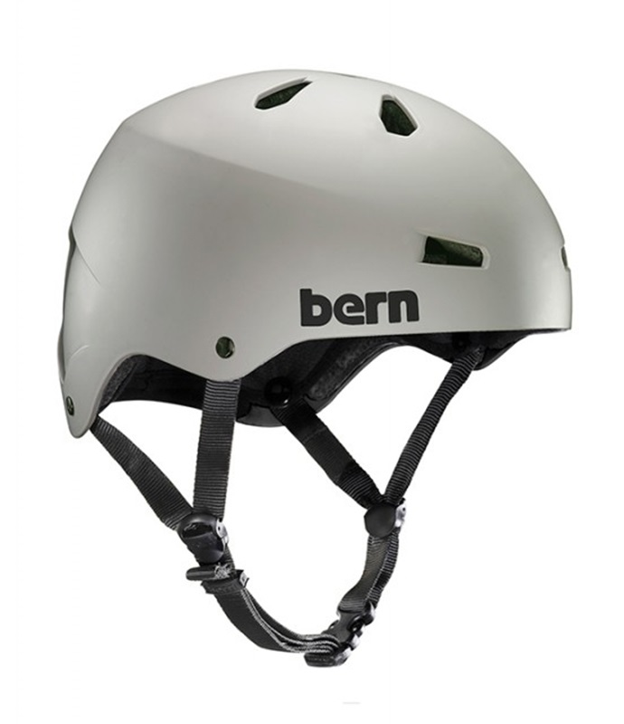 Bern Macon H2O Watersports Helmet, XL Matte Sand Grey