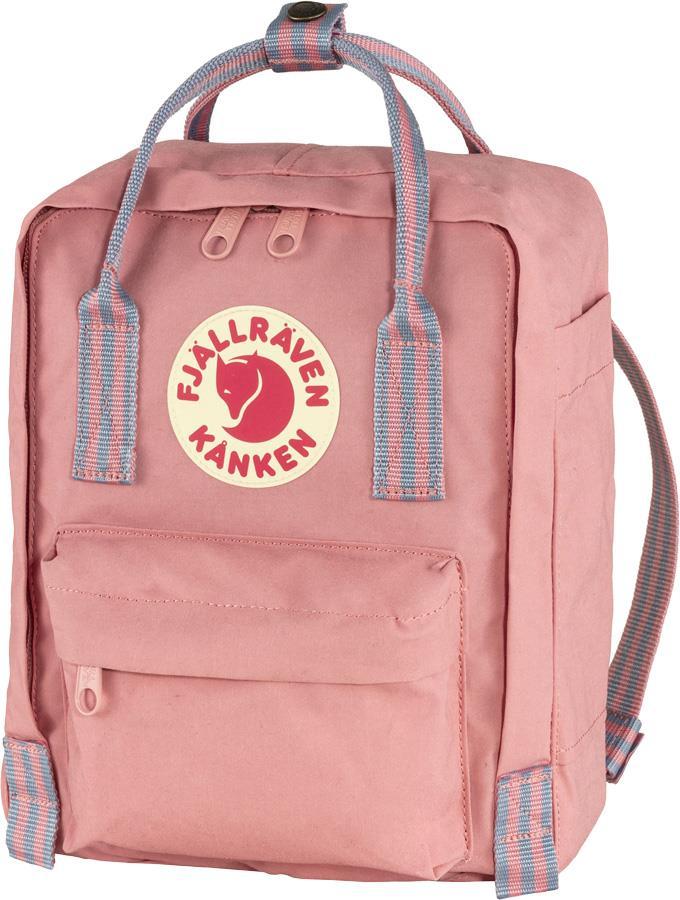 Fjallraven Kanken Mini Daypack/Backpack, 7L Pink-Long Stripes