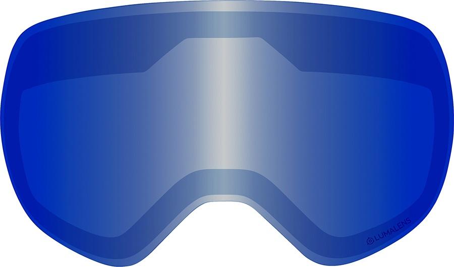 Dragon X1s Snowboard/Ski Goggle Spare Lens, LumaLens Blue Ion