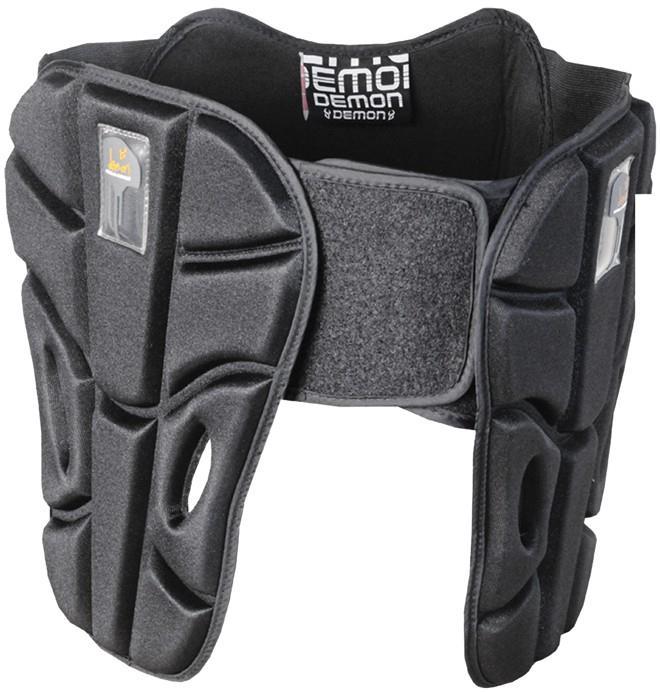 Demon XD3O Hip & Tailbone Ski/Snowboard Protection Belt, S/M Black