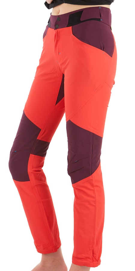 Ortovox (MI) Pala Pants Women's Climbing Trousers, UK 16 Hot Coral