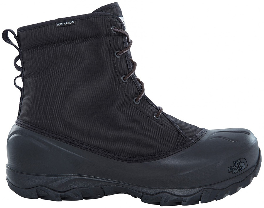The North Face Tsumoru Men's Snow Boots, UK 10.5 Black/Dark Shadow