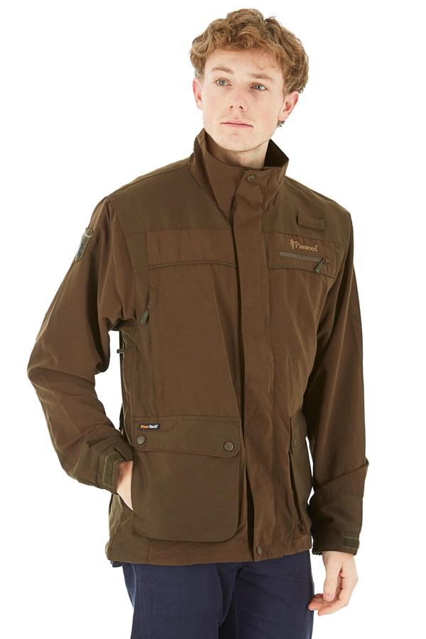 Pinewood Wolf Lite Waterproof Jacket, S Hunting Brown/Suede Brown