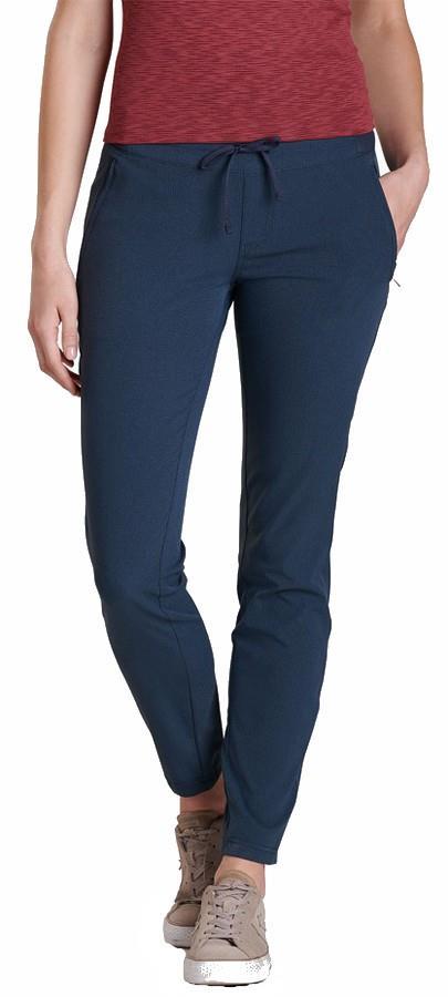 Kuhl Strattus Chino Regular Women's Skinny Fit Trousers, XL Dark Sea