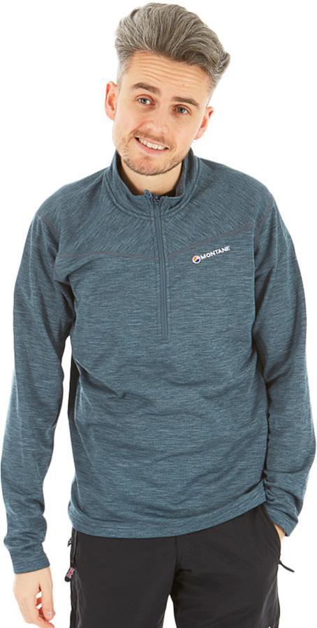 Montane Adult Unisex Protium Pull-On Men's Technical Fleece, S Astro Blue