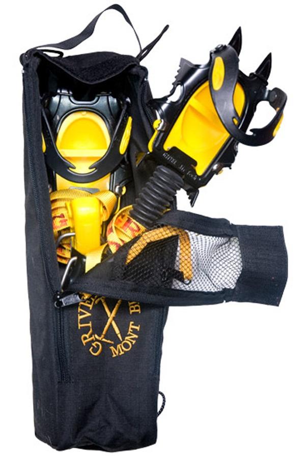 Grivel Crampon Safe Crampon Storage Bag, One Size, Black