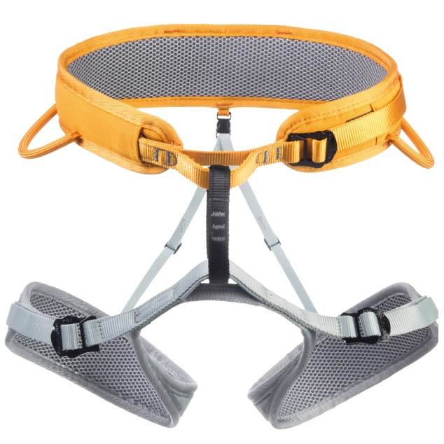 Singing Rock Ray Rock Climbing Harness, XL Orange/Grey
