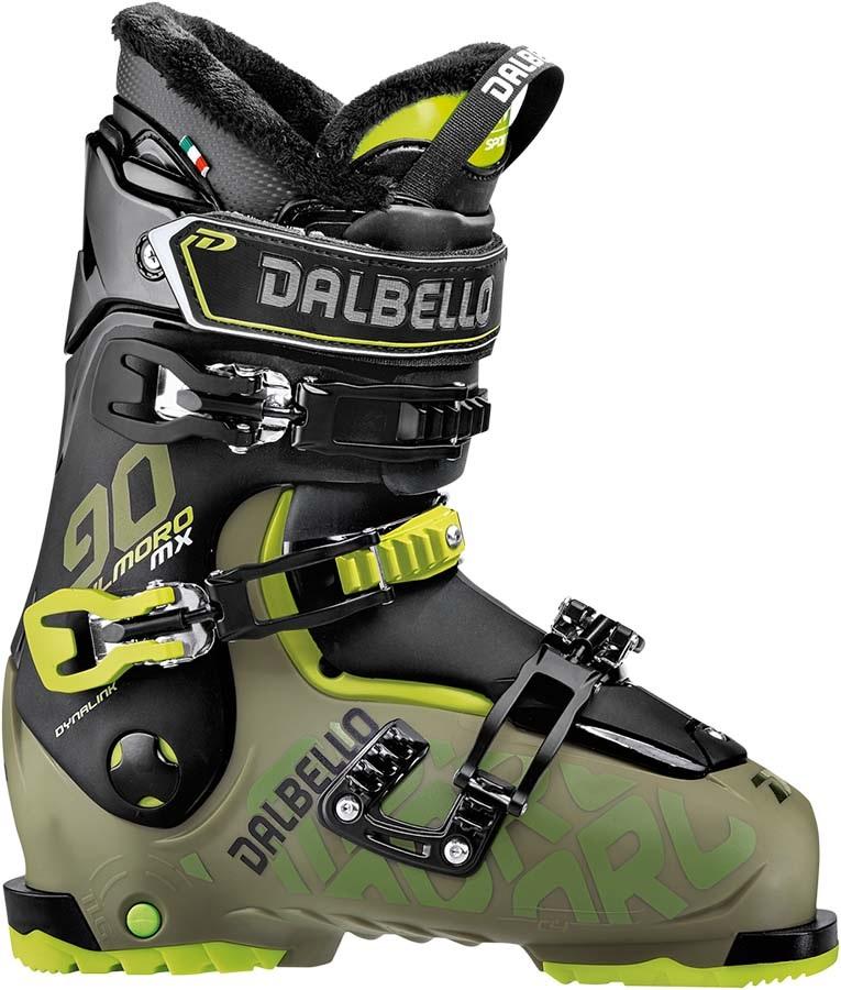 Dalbello IL Moro MX 90 Ski Boots, 25.5 Black/Green 2019