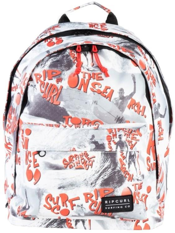 Ripcurl Double Dome BTS Backpack, 24L White