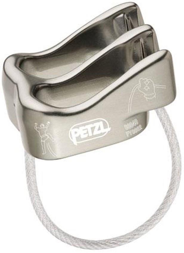 Petzl Verso Rock Climbing Belay Device Titanium