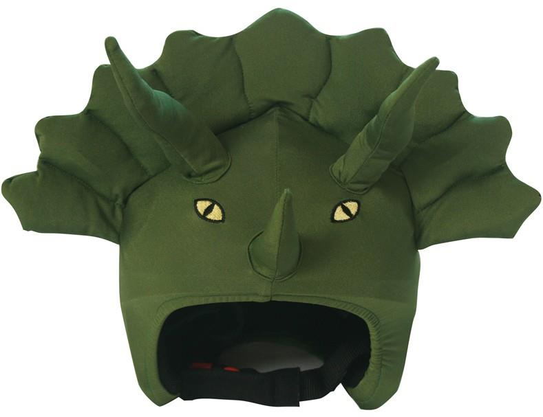 Coolcasc Animals Ski/Snowboard Helmet Cover One Size Triceratops