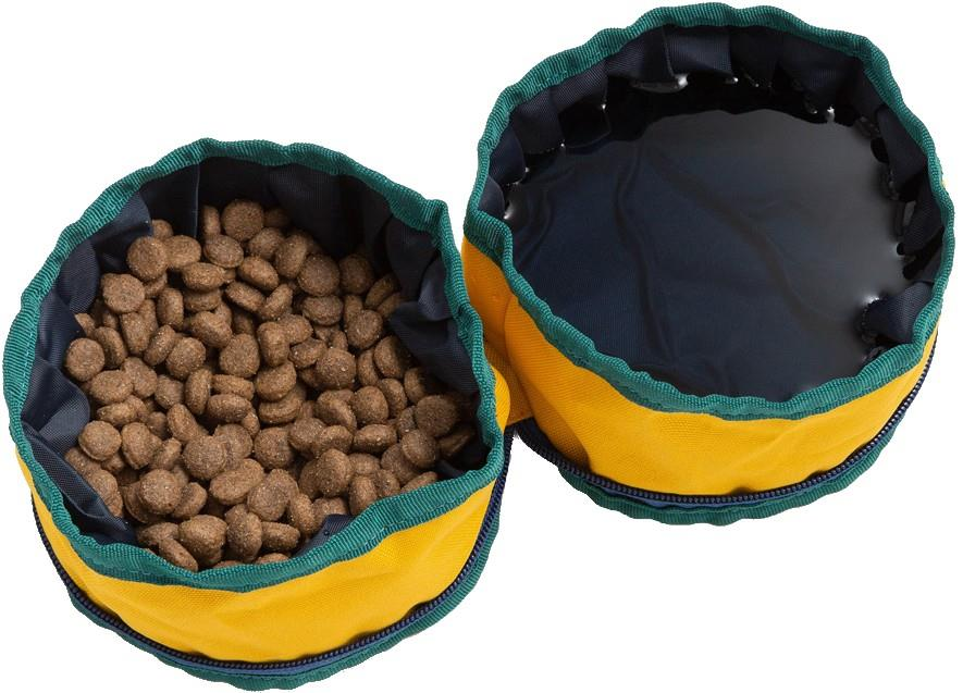 United By Blue Collapsible/Portable Dog Food/Water Bowls, Diamond
