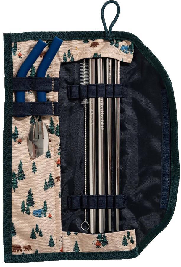United By Blue Utensil Kit Eco-Friendly Travel Cutlery Set Tan
