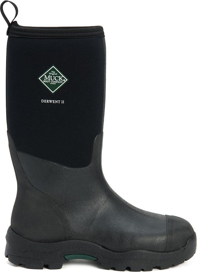 Muck Boot Derwent II Men's Wellies, UK 11 Black