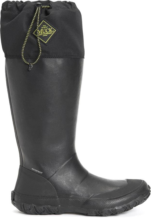 Muck Boot Forager Unisex Tall Wellies, UK 8 Black