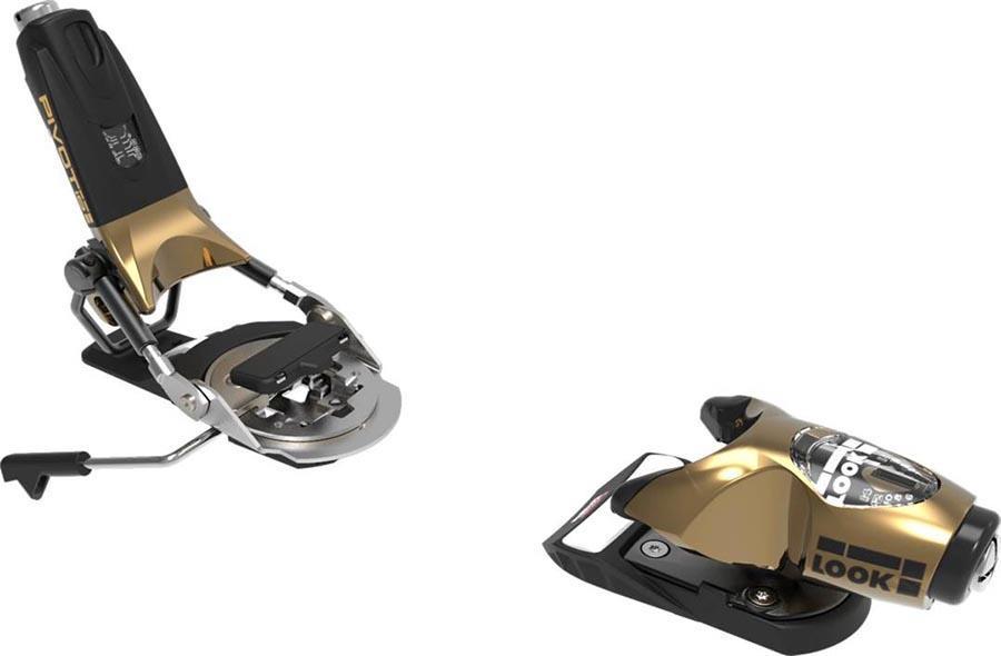 Look Adult Unisex Pivot 15 Gw Ski Bindings, 115mm Gold