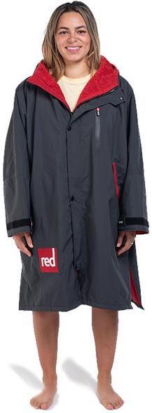 Red Original Pro Change Jacket LS Dressing Dry Robe, M Grey