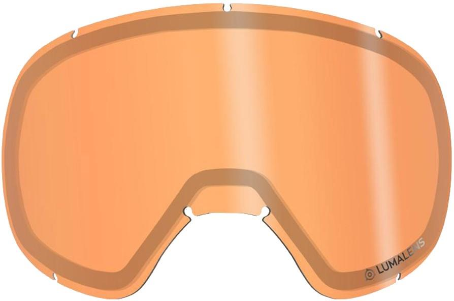 Dragon D3 Snowboard/Ski Goggles Spare Lens One Size LumaLens Amber