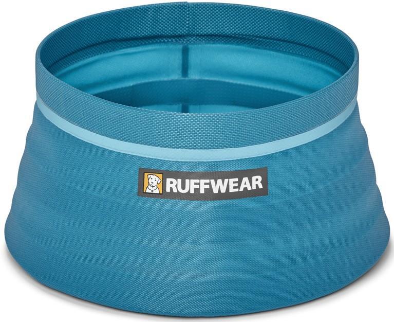 Ruffwear Bivy Collapsible Water/Food Dog Bowl, 1.8L, 84g Blue Spring