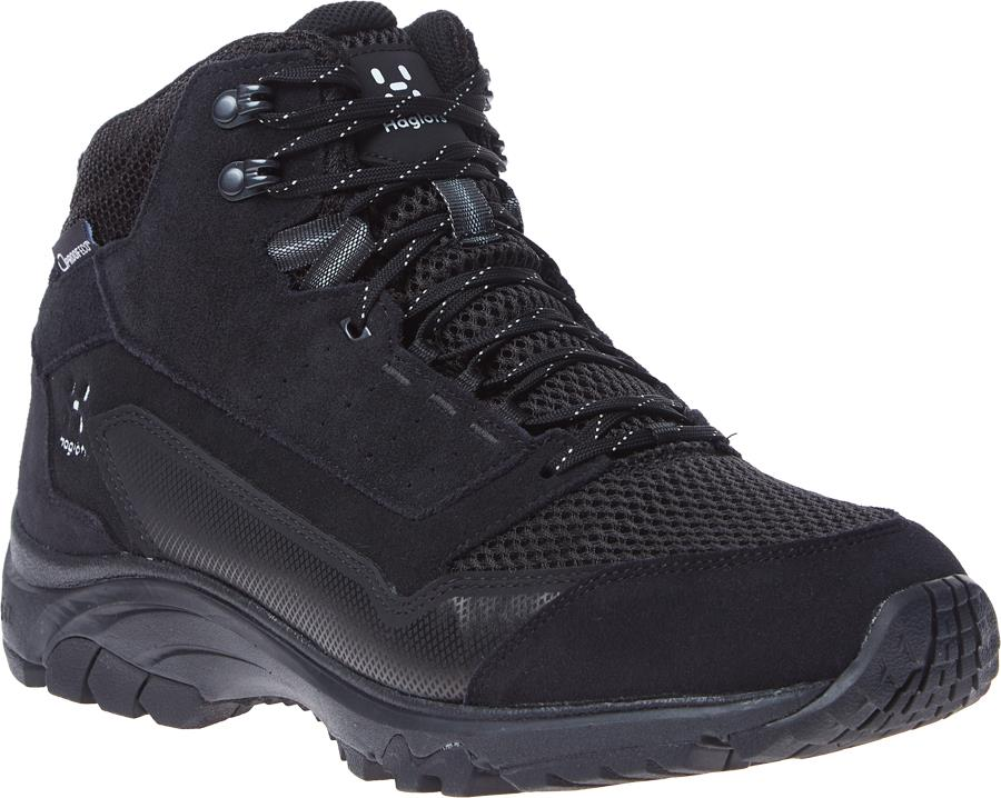 Haglofs Skuta Mid Proof Eco Men's Hiking Boots, UK 7 True Black