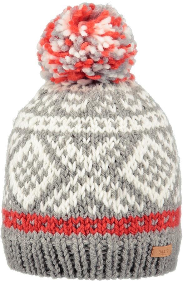 Barts Log Cabin Ski/Snowboard Beanie Bobble Hat, One Size Heather