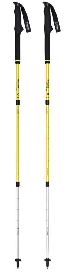 Helinox Passport FL120 Adjustable Trekking Poles, 80-120cm Melon