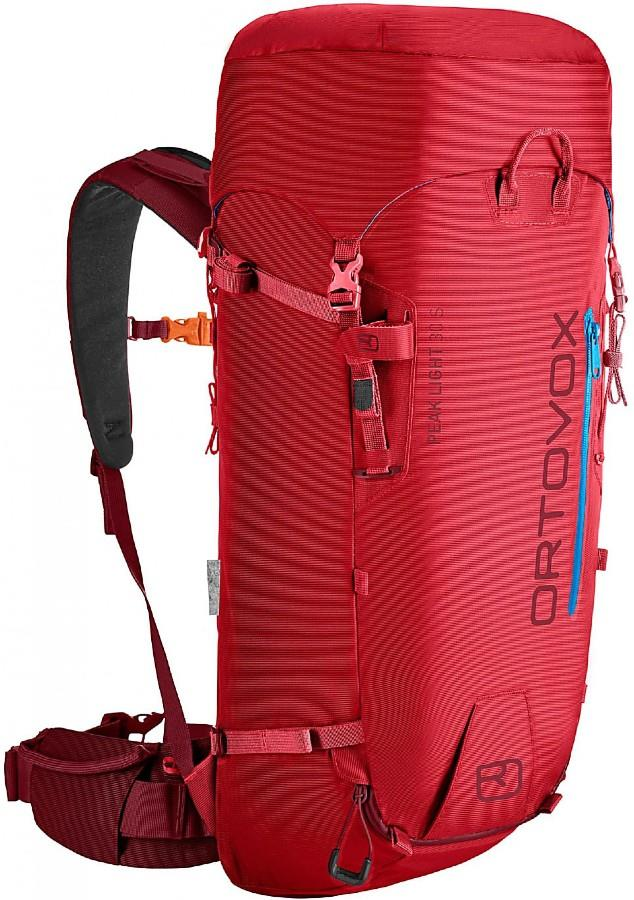 Ortovox Womens Peak Light 30 S Short Climbing & Mountaineering Pack, 30l Hot Coral