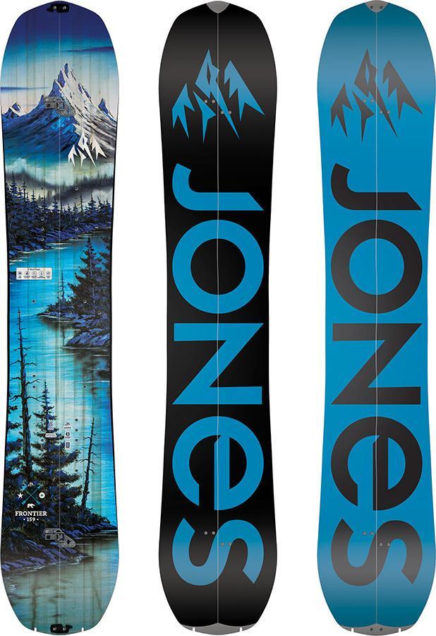 Jones Frontier Hybrid Camber Split Snowboard, 162cm