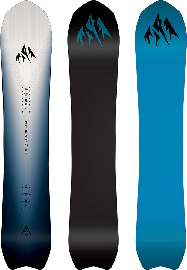 Jones Stratos Hybrid Camber Snowboard, 162cm 2021