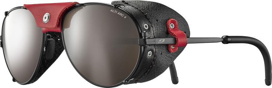 Julbo Cham Alti Arc 4 Mountaineering Sunglasses, Black/Red