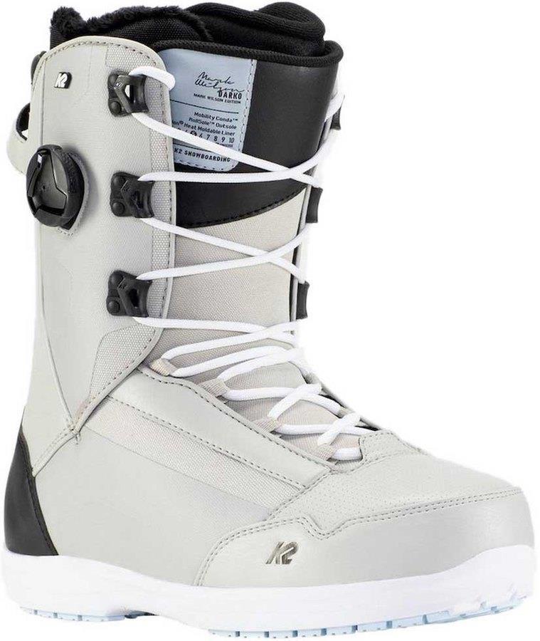 K2 Darko Men's Snowboard Boots, UK 8.5 Grey 2021
