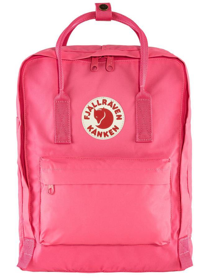 Fjallraven Kanken Backpack, 16L Flamingo Pink