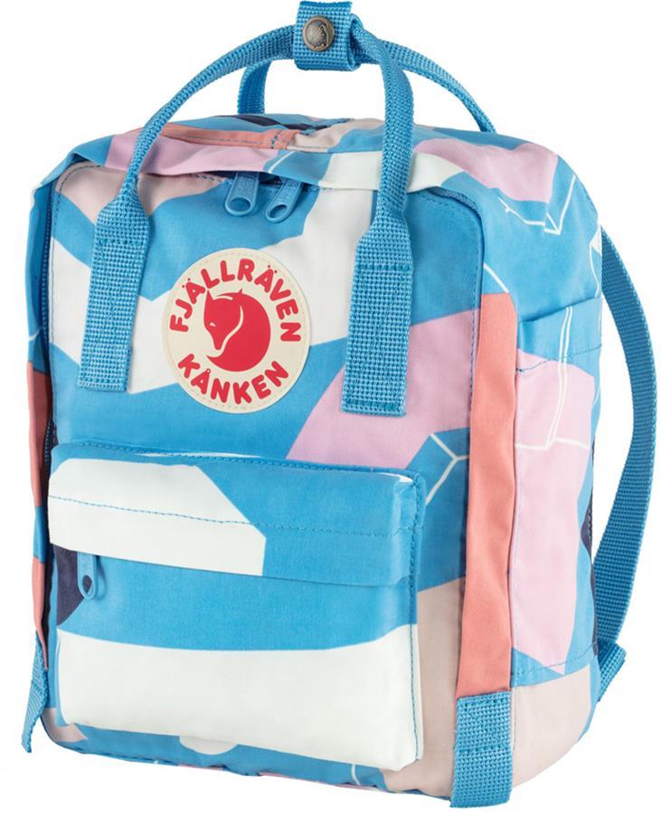 Fjallraven Kanken Art Mini Backpack/Kids' Rucksack 7L Ocean Surface