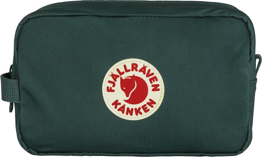 Fjallraven Kanken Gear Bag Travel Organiser Bag, 2L Arctic Green