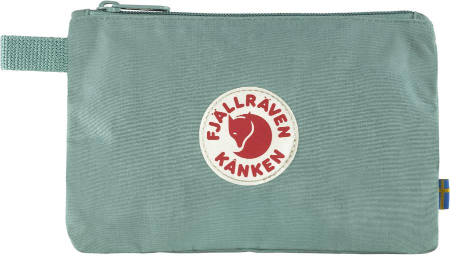 Fjallraven Kanken Gear Pocket Organiser Bag, 14 x 21 cm Frost Green