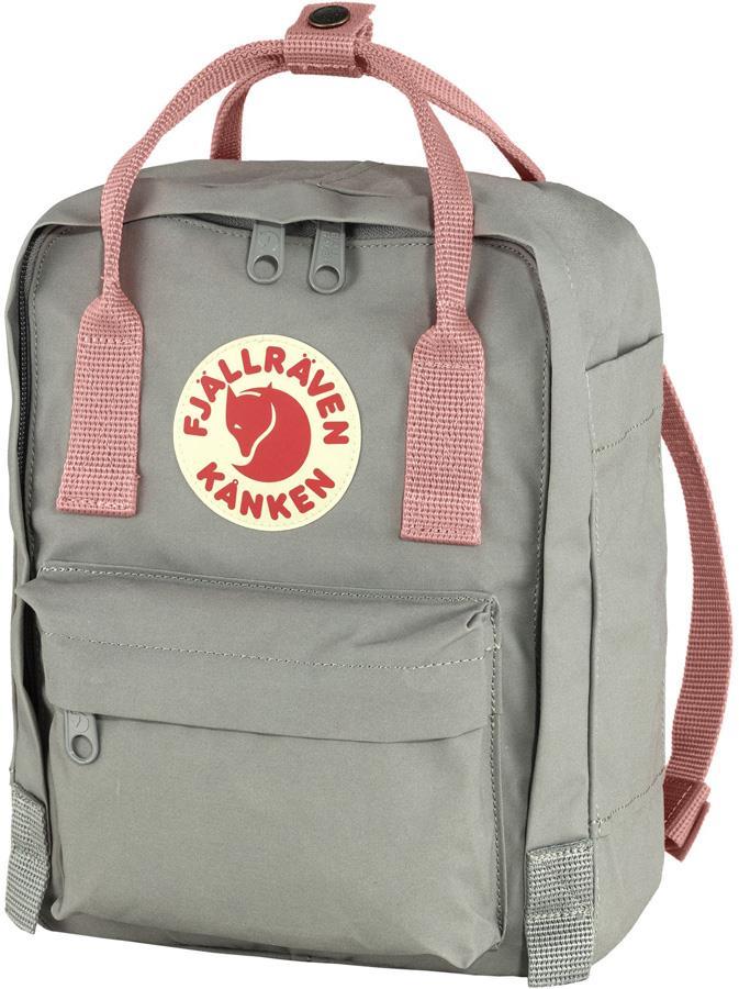 Fjallraven Kanken Mini Daypack/Backpack, 7L Fog-Pink