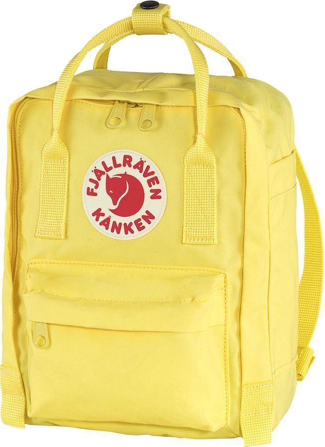 Fjallraven Kanken Mini Daypack/Backpack, 7L Corn