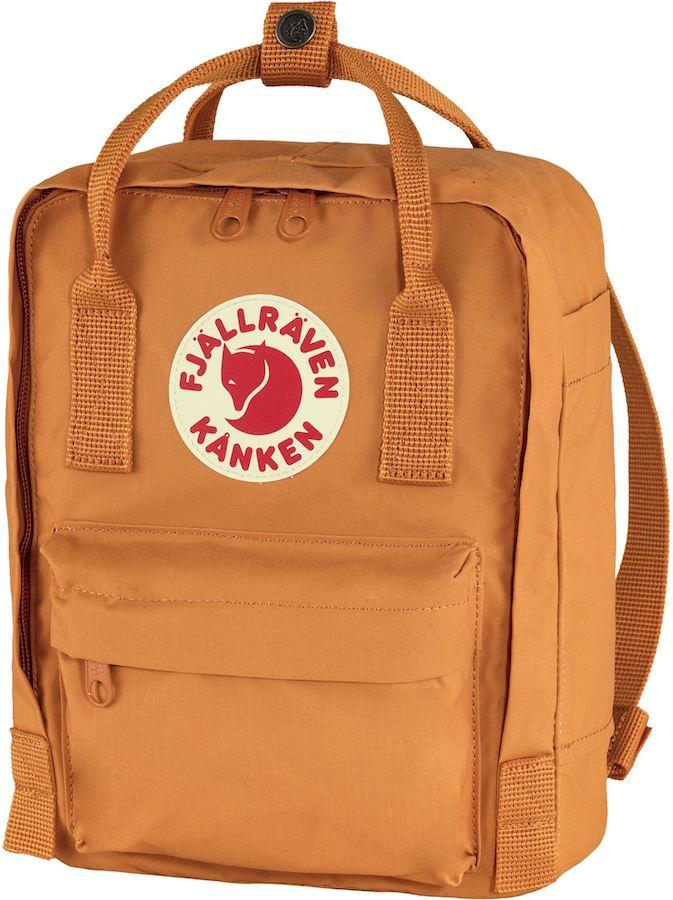 Fjallraven Kanken Mini Daypack/Backpack, 7L Spicy Orange