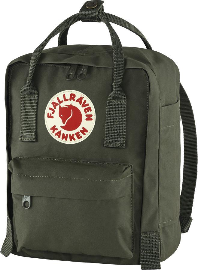 Fjallraven Kanken Mini Daypack/Backpack, 7L Deep Forest