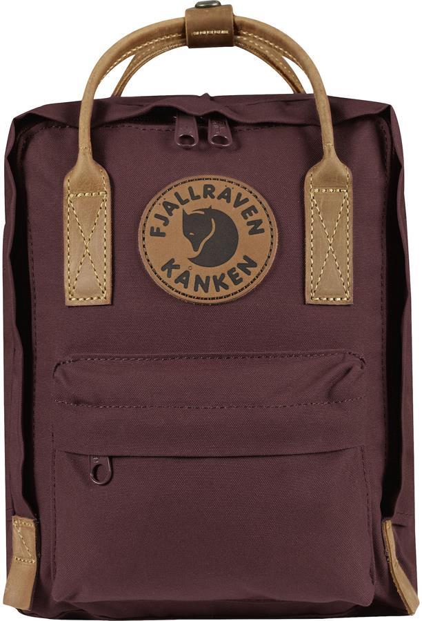 Fjallraven Kanken No.2 Mini Backpack, 7L Dark Garnet